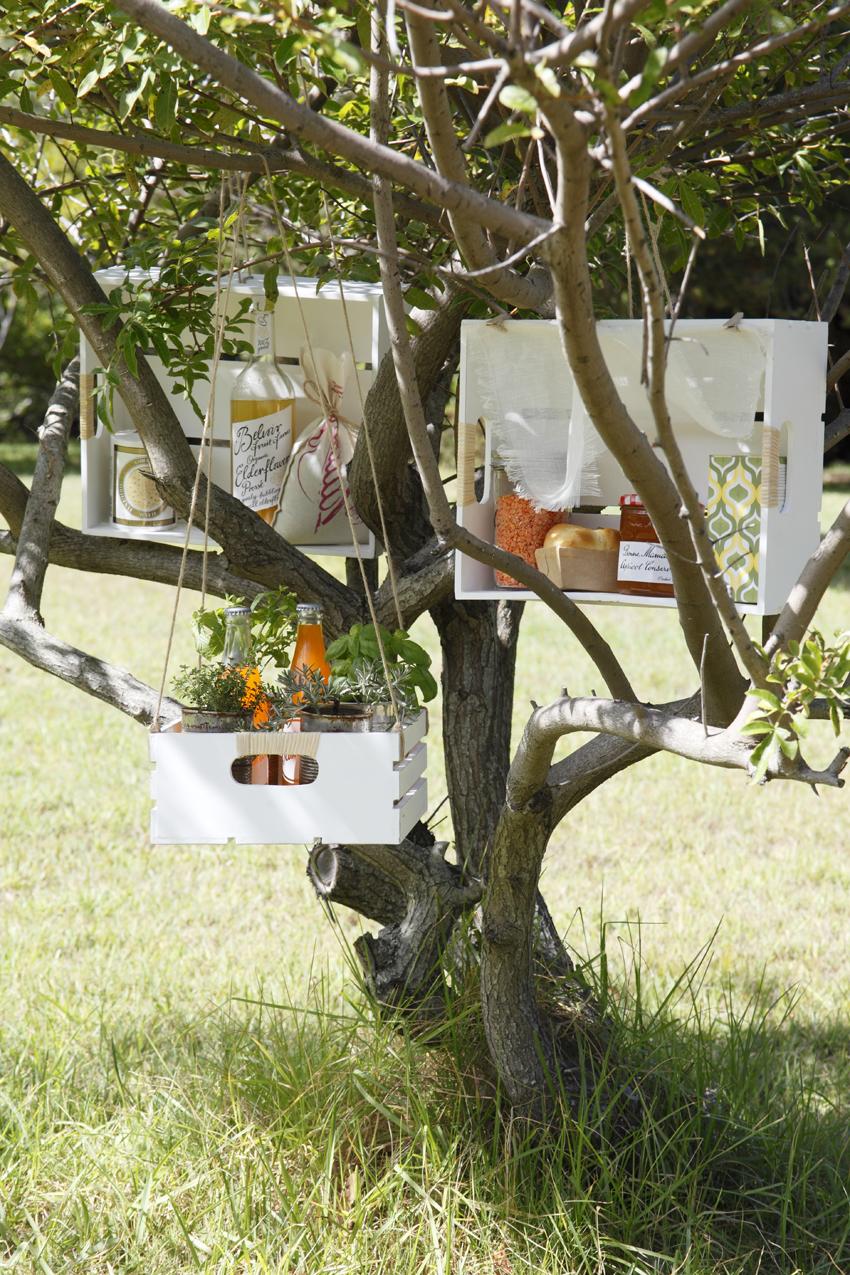Tree garden storage