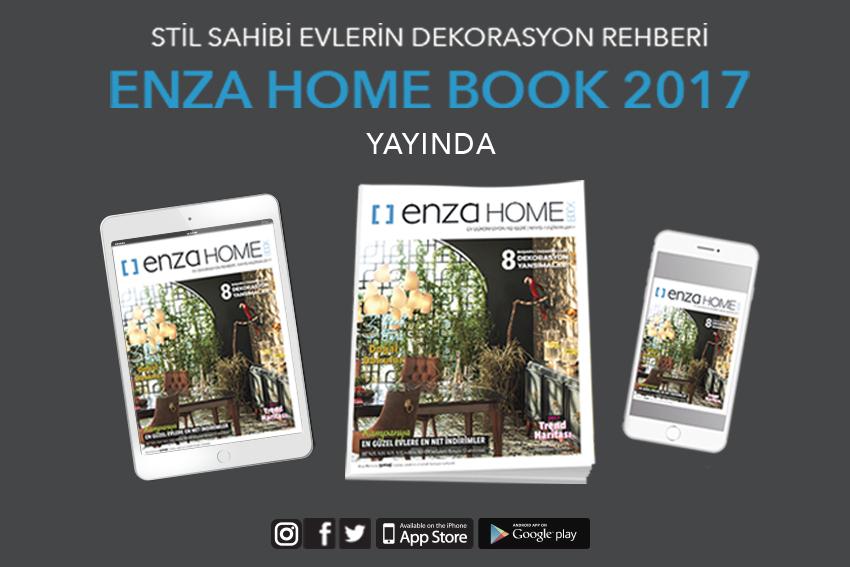 Enza Home Book 2017 Yayında…